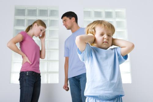 El drama de la separación para los niños